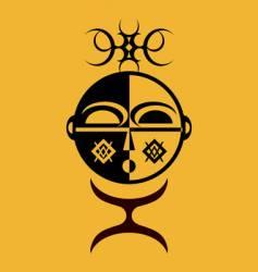 african idol vector image vector image