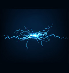 Abstract background electric light spark flash vector