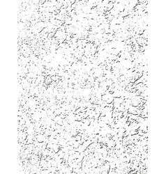 distressed overlay texture of cracked concrete vector image