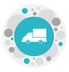 of complex symbol on lorry vector image
