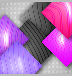 Amazing geometric background with colorful texture vector