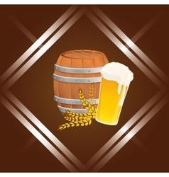 Beer icon design vector image