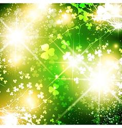 Bright Saint Patrick Day vector