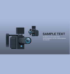 Gimbal video camera 3-axis stabilization vector