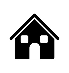 house pictogram icon image vector image