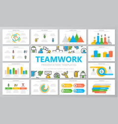 human resources and business organization vector image
