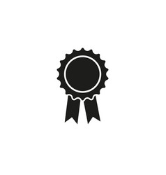 medal stamp first gold sport of icon vector image