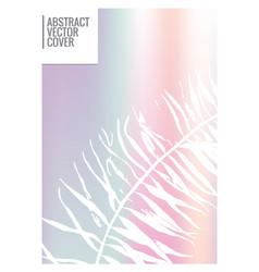 minimal cover design vector image