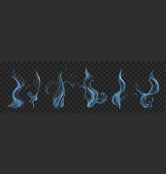 set of smoke vector image