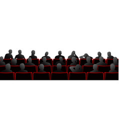 audience vector image