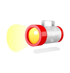 icon light vector image