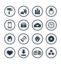 Art design icons universal set vector