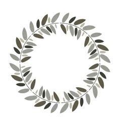 Beautiful leaves ornament vector
