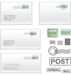 mail address vector image vector image