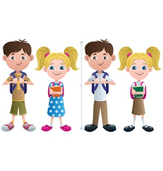 Students vector image