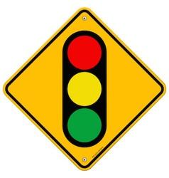 Traffic light symbol vector