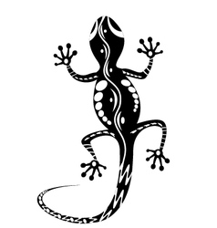 lizards tattoo vector image