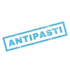 Antipasti Rubber Stamp vector