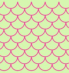girl mermaid seamless pattern vector image