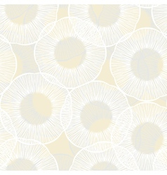 Hand drawn seamless texture with circles vector image