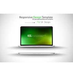 Notebook PRO green vector