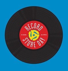 Record Store Day Design vector image