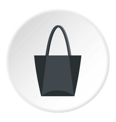 Road bag icon circle vector