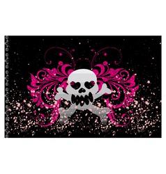 skull vector image vector image