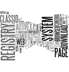 what is classid text word cloud concept vector image