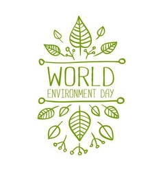 World Environment Day Banner vector