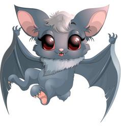 beautiful little bat vector image