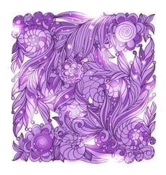 Fairy hand drawn doodle style bandana vector image