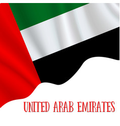 2 december united arab emirates independence day vector image