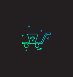 business buy cart ecommerce shopping icon desige vector image