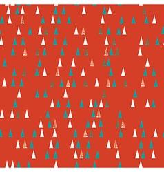 Christmas tree seamless pattern vector