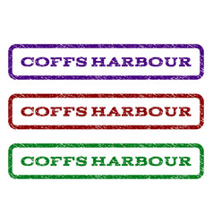 Coffs harbour watermark stamp vector