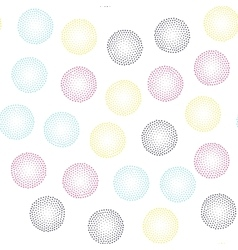 Color universal geometric seamless pattern vector