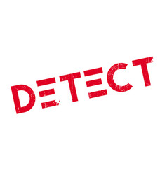 detect rubber stamp vector image
