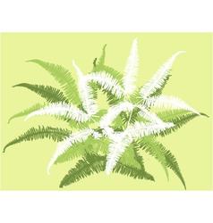 Grass leaf background vector