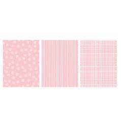 hand drawn abstract irregular patterns vector image
