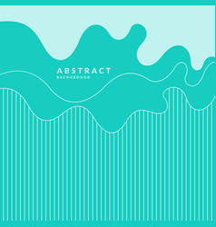 Modern backgrounds with abstract elements and vector