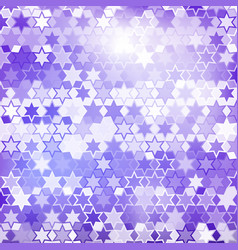 Purple star background vector