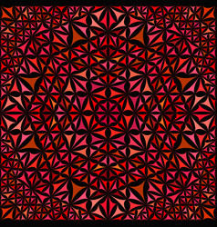 red seamless kaleidoscope pattern background vector image