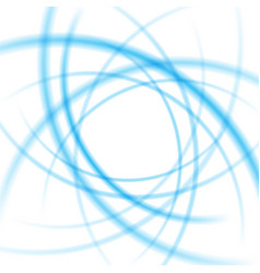 Smooth light blue waves lines abstract vector