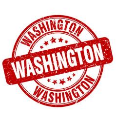 washington stamp vector image