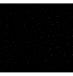Starry night background vector image