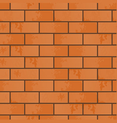 the imitation of brickwork vector image