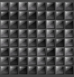 checkers metal background of polished glass plates vector image