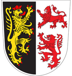 Coat of arms of neumarkt in upper palatinate vector