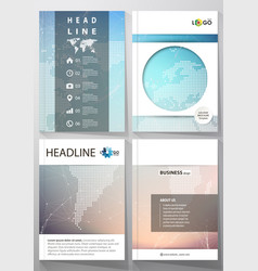 Editable layout four vector